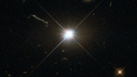 A bright supermassive black hole. Image credit: ESA/Hubble & NASA