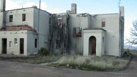 Director's Residence after the 2003 fires