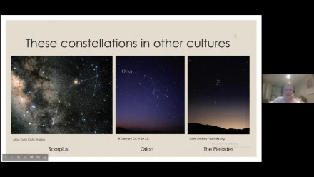 Staci Pearlman: Constellation Storytime: Orion, Scorpius, and the Pleiades
