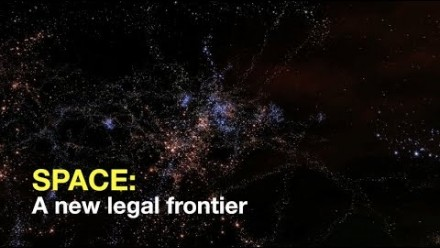 Space: A new legal frontier