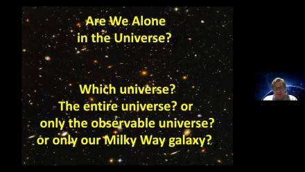A/Prof. Charley Lineweaver: Are We Alone in the Universe?