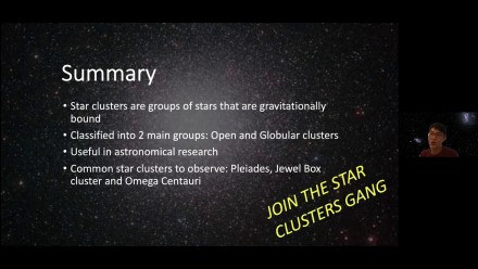 Wei Shen Oh: Star Clusters: What's the Big Deal?